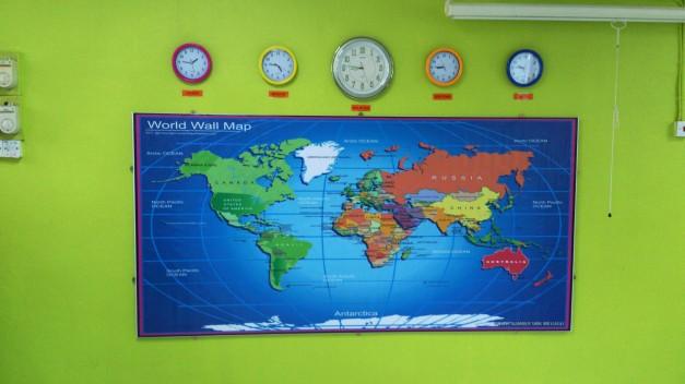 Projek Waktu dan Peta Dunia 2013